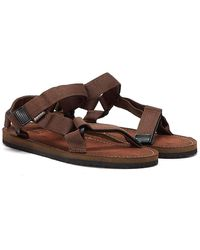 Barbour Hillman Sandals - Brown