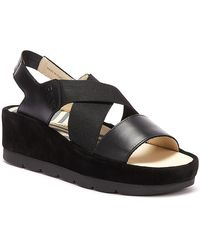 Fly London Bime Womens Black Sandals