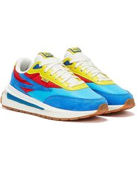 Fila Renno Blau / Rot / Gelb Sneaker - Schwarz