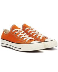 Converse Chuck 70 OX Orange Turnschuhe