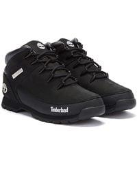Timberland Mens Black Euro Sprint Boots