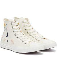 Converse All Star It's Ok To Wander Hi Weisse Sneakers - Weiß