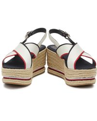 Tommy Hilfiger Wedges - White
