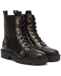 Guess Omala / Brown Boots - Black
