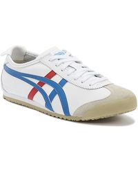 Onitsuka Tiger Mexico 66 Mens White / Blue Sneakers