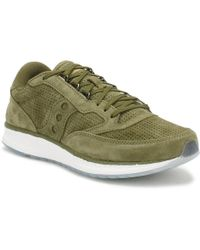 Saucony | Green Freedom Runner Trainers | Lyst