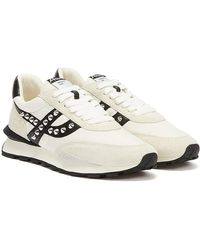 Ash Spider Studs Off / Black Sneakers - White