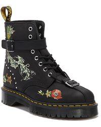 Dr. Martens Dr. Martens Gomez Moldova Wild Botanics Womens Black Boots