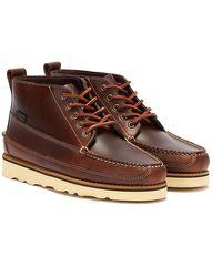 G.H. Bass & Co. G.h. Bass & Co. Camp Moc Iii Ranger Pull Up Dark Boots - Brown
