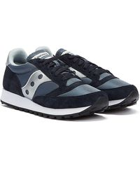 Saucony Jazz 81 / Silver Sneakers - Blue