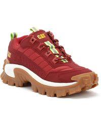 Caterpillar - Intruder 1 Womens Red Trainers - Lyst