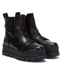 UGG Leather Sid Boots 45 - Black