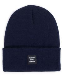 Herschel Supply Co. - Navy Abbott Beanie - Lyst