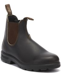 f7f18eaac922 Blundstone - 500 Stout Brown Boots - Lyst