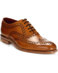 Loake - Fearnley Tan Brogues - Lyst