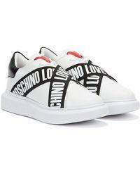 Love Moschino Running / Black Sneakers - White
