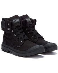 Palladium Pallabrouse Baggy Boots - Black