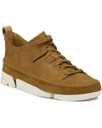 Clarks - Mens Oak Trigenic Flex Trainers Men's Shoes (trainers) In Brown - Lyst