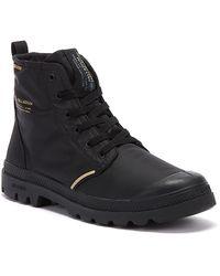 Palladium Pampa Lite+ Rcycl Wp+ Mens Black Boots