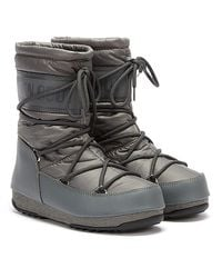 Moon Boot Nylon Mid Boots - Grey