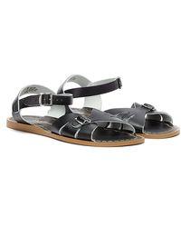 Salt Water Classic Sandals - Black