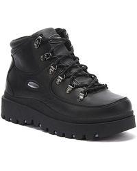 Skechers Shindigs Renegade Heart Womens Black Boots
