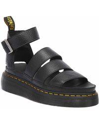Dr. Martens Dr. Martens Clarissa Ii Quad Aunt Sally Womens Black Sandals