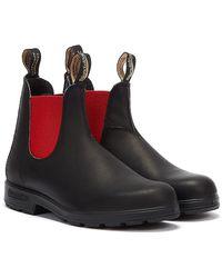 Blundstone Originals Unisex / Red Boots - Black