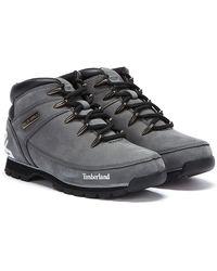 Timberland Euro Sprint Nubuck Boots - Grey