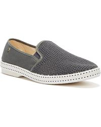 Rivieras Classic 20 Dark Shoes - Grey