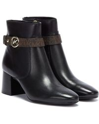 Michael Kors Abigail Flex Womens Black / Brown Boots