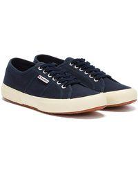 Superga 2750 Cotu Marineblaue Sneaker