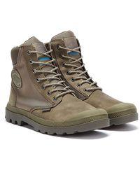 Palladium Pampa Sport Cuff Wpn Mens Grey Boots