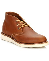 Red Wing - Mens Oro-iginal Work Chukka Boots - Lyst