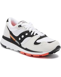 Saucony Azura Mens White / Black Sneakers