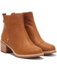 TOMS Marina Brown Boots
