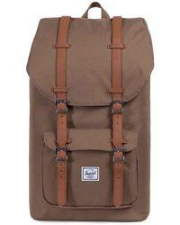 Herschel Supply Co. - Little America (black/black) Backpack Bags - Lyst