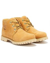 Timberland Nellie Paninara Womens Wheat Yellow Chukka Boots