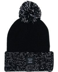 Herschel Supply Co. - Black Reflective Sepp Beanie - Lyst