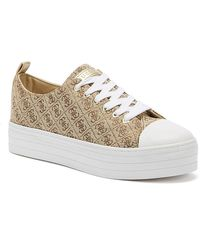 Guess Brigs Womens Beige Sneakers - Natural