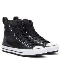 Converse Chuck Taylor All Stars Berkshire Boots Baskets Blanches Noires Pour