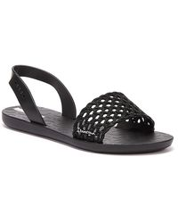 Ipanema Breezy Womens Black Sandals