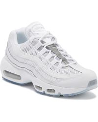 Nike Air Max 95 Essential Mens White / Silver Trainers