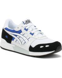 Asics Gel-lyte White / Blue Trainers