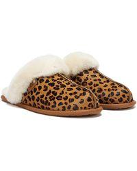 UGG Scuffette Ii Leopard Slippers - Brown