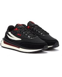 Fila - Renno Red Trainers - Lyst
