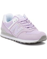 New Balance - Womens 574 Lilac Classic Trainers - Lyst