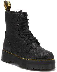 Dr. Martens Dr. Martens Jadon Womens Black Glitter Boots