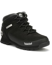 Timberland Mens Black Euro Sprint Boots