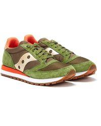 Saucony Jazz 81 / Orange Sneakers - Green
